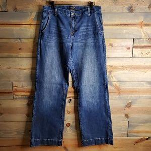 "Banana Republic womens jeans, ""Trouser"" stretch"